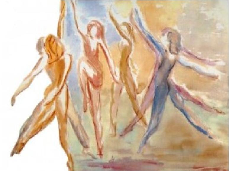 Dessin officiel MMM #MargaretMorrisMovement#MouvementMargaretMorris#danse#équilibre#santé#BienEtre#respiration#Genève